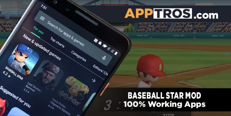 Baseball Star Mod Apk featured