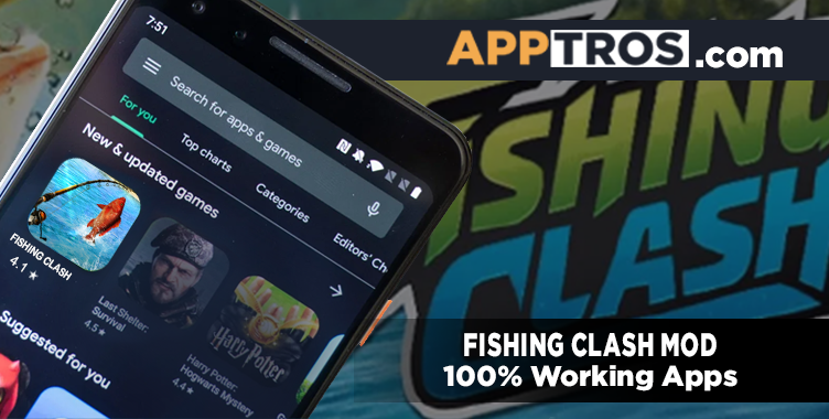 Fishing clash mod apk featured icon
