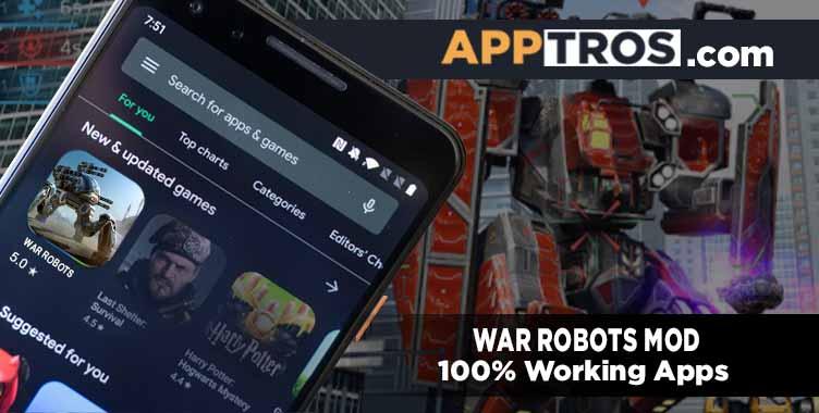 War robot mod apk 1122