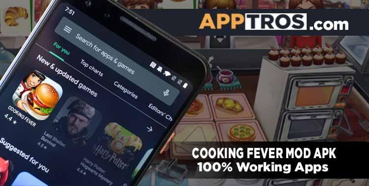 cooking fever mod apk 123