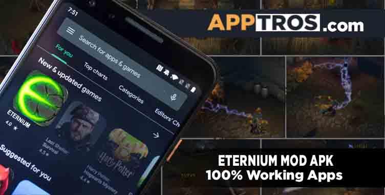 Eternium mod apk display