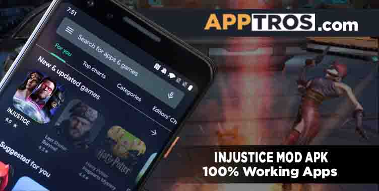 Injustice Mod APK banner