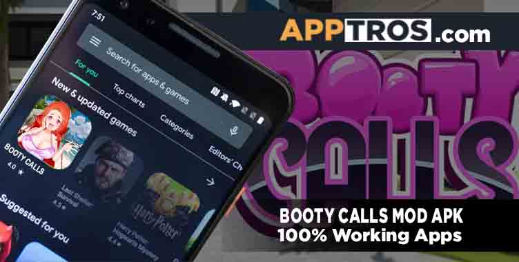Booty calls mod apk banner