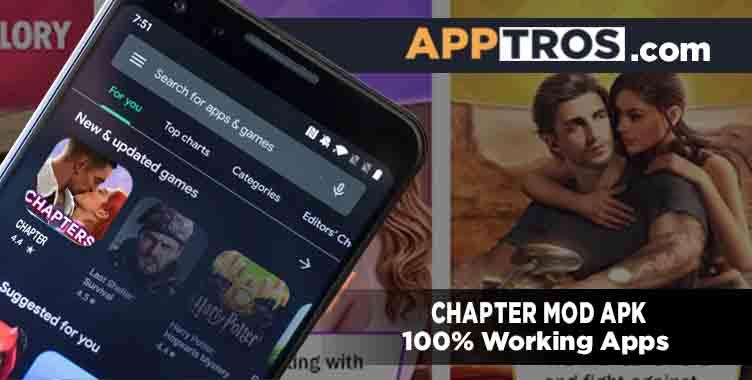 Chapter mod apk banner