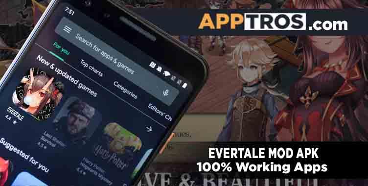 Evertale mod apk featured image banner