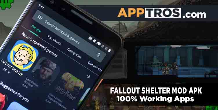 Fallout shelter mod apk banner