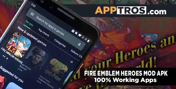 Fire Emblem Heroes Mod Apk v5.8.0  (Mod Menu Unlimited Orbs)