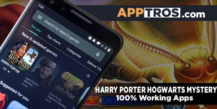 Harry porter Hogwarts mystery mod apk banner