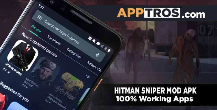 Hitman sniper banner