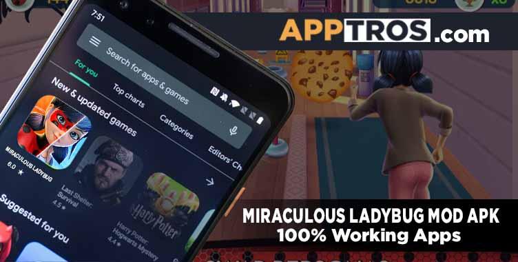 Miraculous ladybug mod apk banner