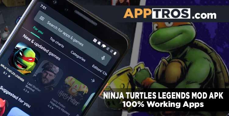 Ninja turtles legends banner