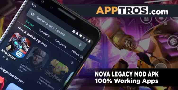 Nova Legacy Mod APK banner