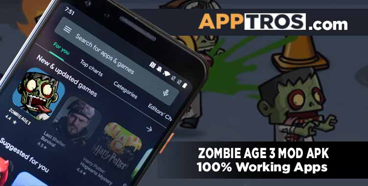 Zombie age 3 banner