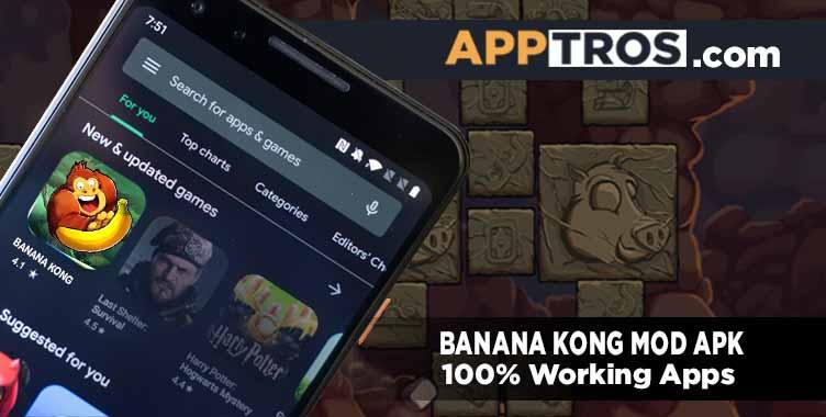Banana kong banner