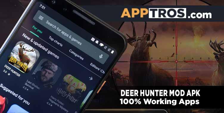 Deer hunter banner