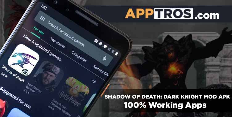 Shadow of death banner