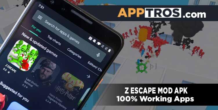 Z escape banner